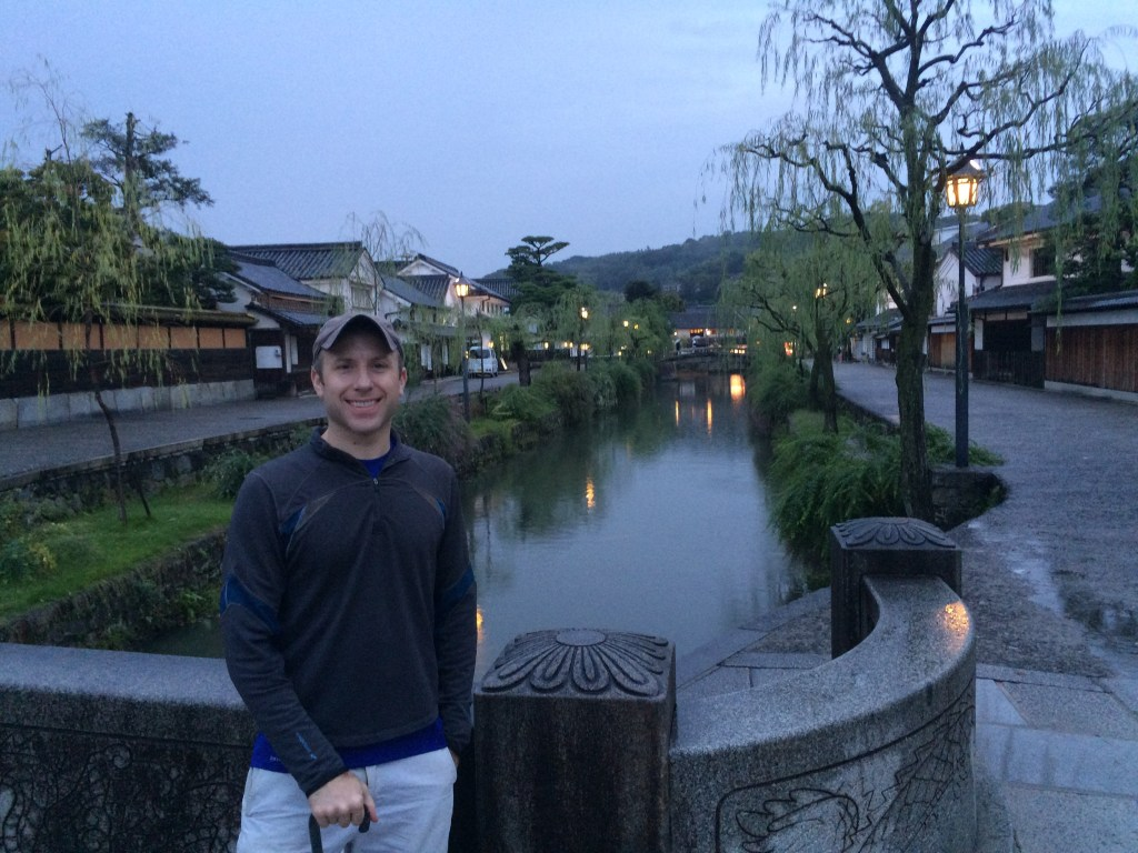 Beautiful town of Kurashiki, but the place is a ghost town after 5 PM. Good as a stopover, but wouldn't stay here again.