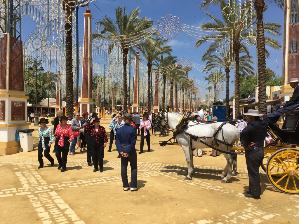 Feria del Caballo (horse festival) in Jerez, generally held the first week of May. A must visit!