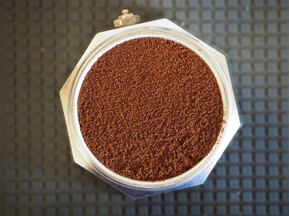 Stovetop pot coffee