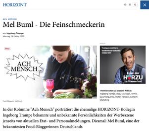 GourmetGuerilla bei Horizont.de