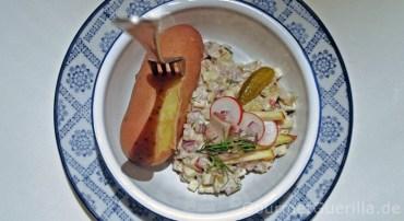 Heringssalat mit Pellkartoffeln