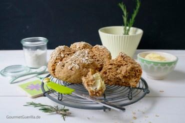 20 Minuten Buttermilch-Haferflocken-Brot #rezept #gourmetguerilla