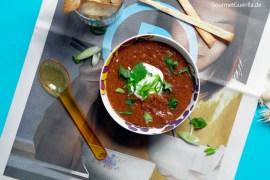 Rote Bohnensuppe Mexican Style #rezept #gourmetguerilla