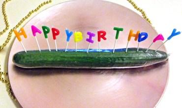 Geburtstagsgurke