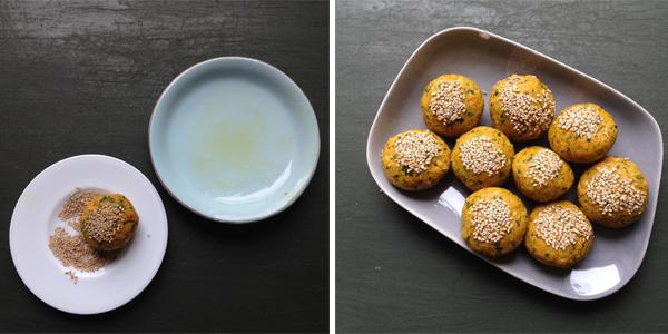Falafel formen #rezept #gourmetguerilla