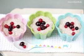 Vegan & Low Carb: Chia-Pudding mt Kokos und Mandel |GourmetGuerilla