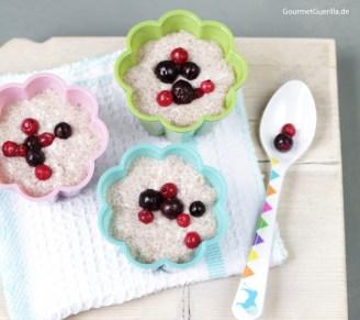 Chia-Pudding #rezept #gourmetguerilla #vegan #raw