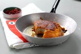 Arme Kürbis-Ritter mit Ahornsirup und Schinken |GourmetGuerilla.de