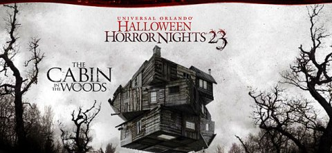 "Universal Orlando's Halloween Horror Nights 23 features ""The Cabin in the Woods"""