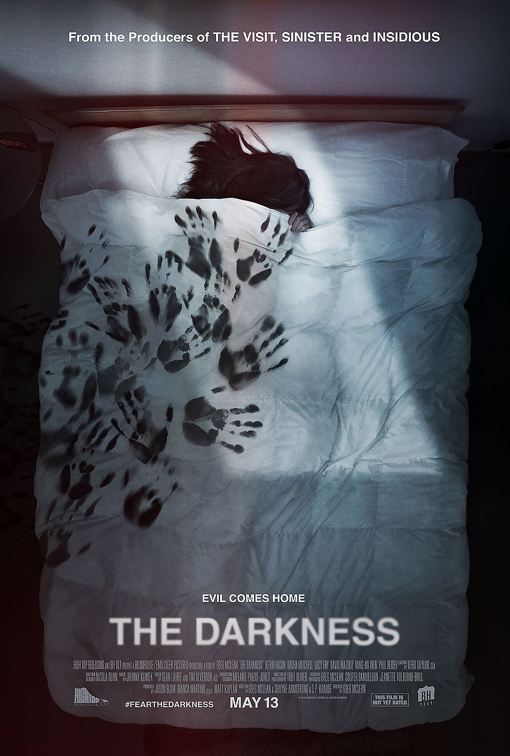Poster for supernatural thriller 'The Darkness' (2016)