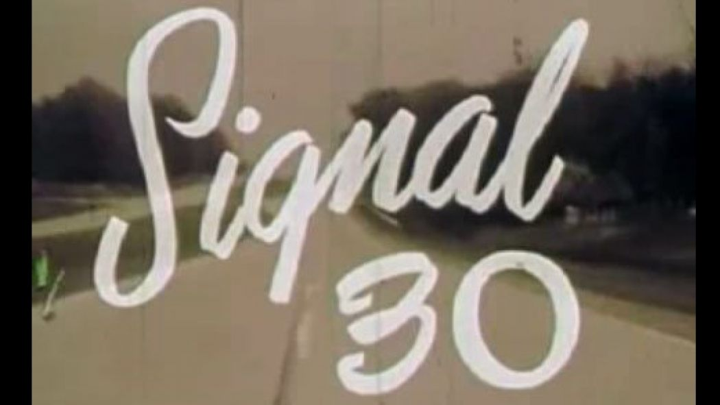 'Signal 30' (1959) – Highway Safety Foundation's grisly film traumatized teens throughout the 60's