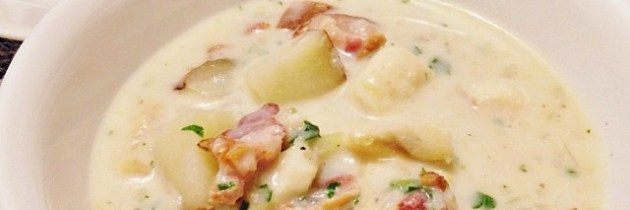 Walleye Chowder