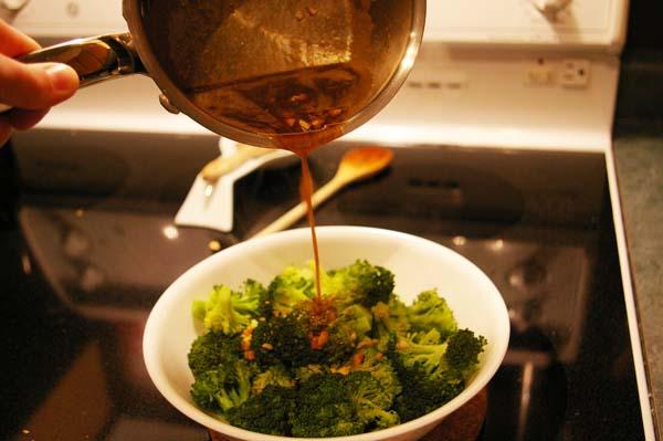 Garlic Butter and Cashew Broccoli - The Gourmet Housewife