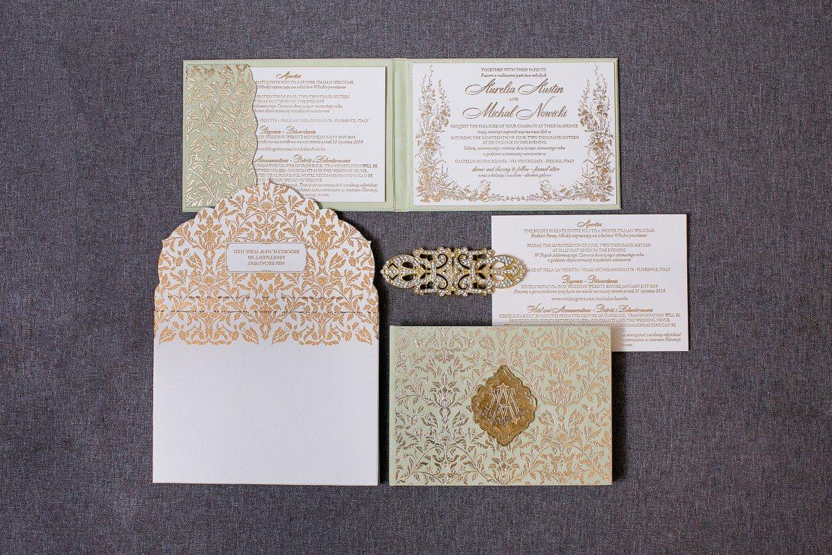 mint and gold wedding, mint and gold wedding invitations