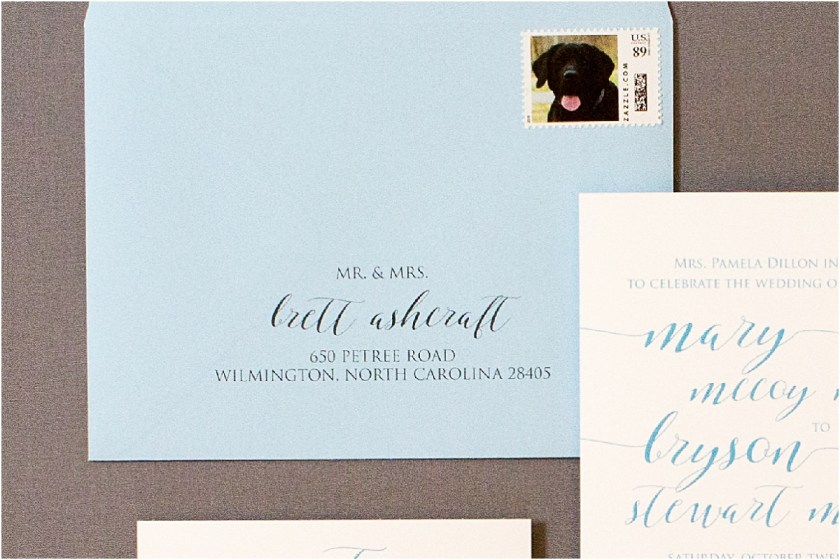 Blue Wedding Invitation Contact Us Today To Create Handwritten