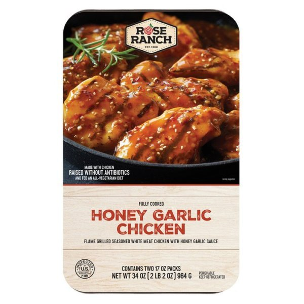 Rose Ranch Honey Garlic Chicken