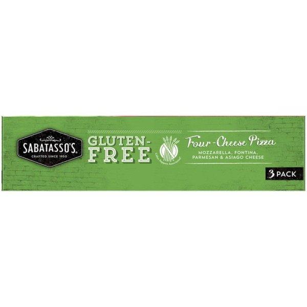 Sabatasso's Gluten-Free Four-Cheese Pizza Side 2