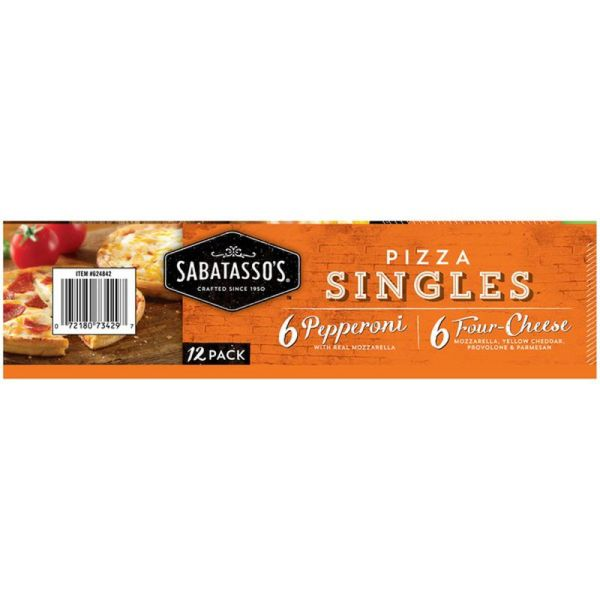 Sabatasso's Pizza Side 2