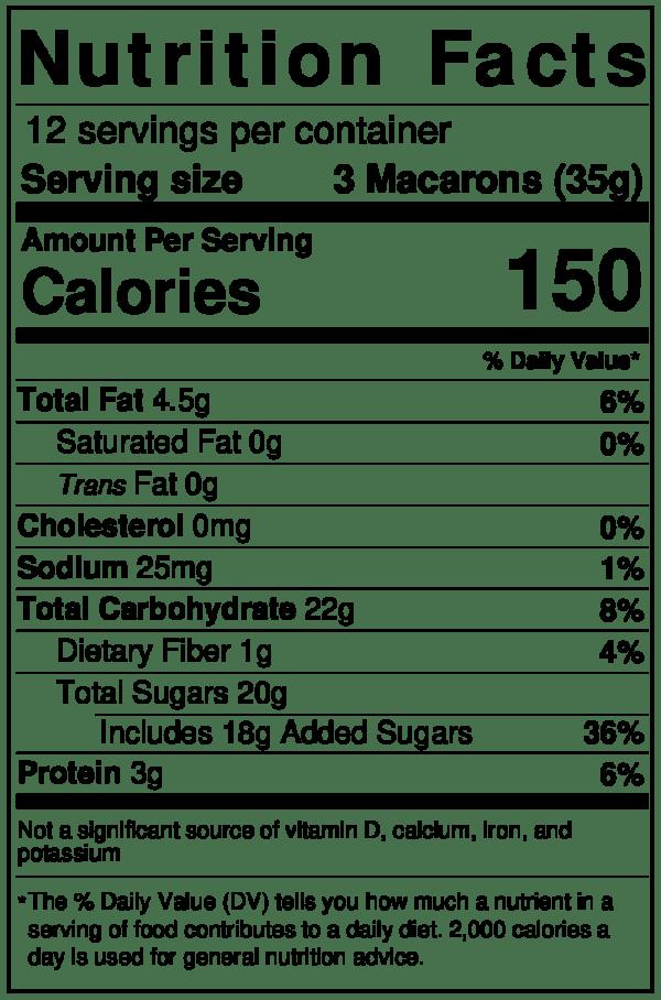 Tipiak Dulce de Leche Macron Nutrition