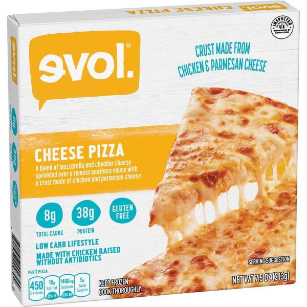 Evol Cheese Pizza Angle 1