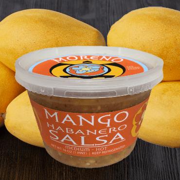 Mango Salsa Square