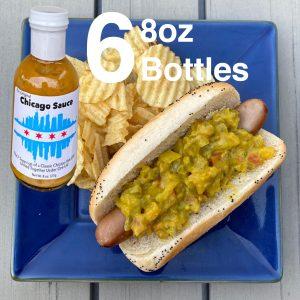 Chicago Sauce 6 Bottle Feature