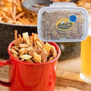 Sweet Ali's Tempe Snack Mix Plated Feature
