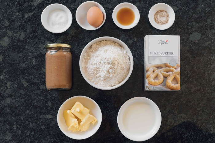 Belgium Liege Waffles ingredients