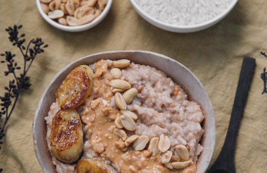 Peanut Butter Rice Porridge (Bouillie)- Central African Republic