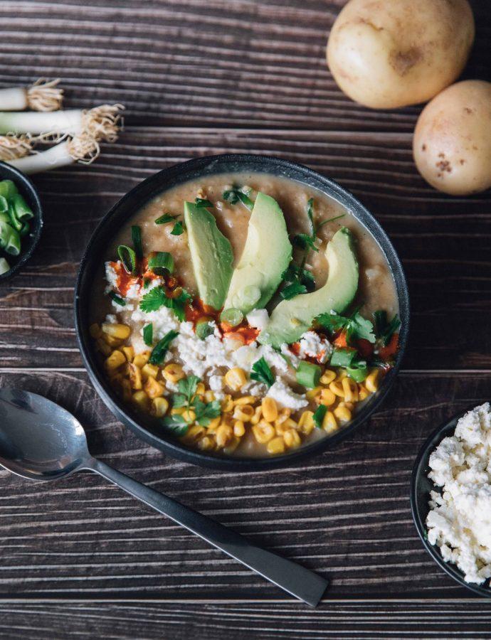 Potato and Cheese Soup (Locro De Papa)- Ecuador