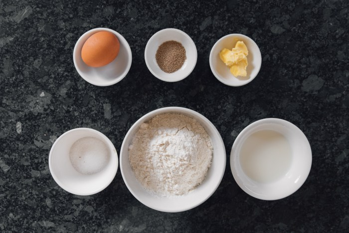 Beignets (Fried Dough Recipe) ingredients