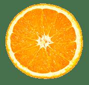 Orange détourée