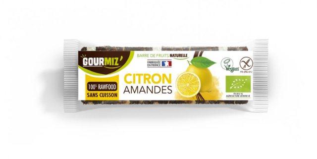 Barre citron amande Gourmiz'