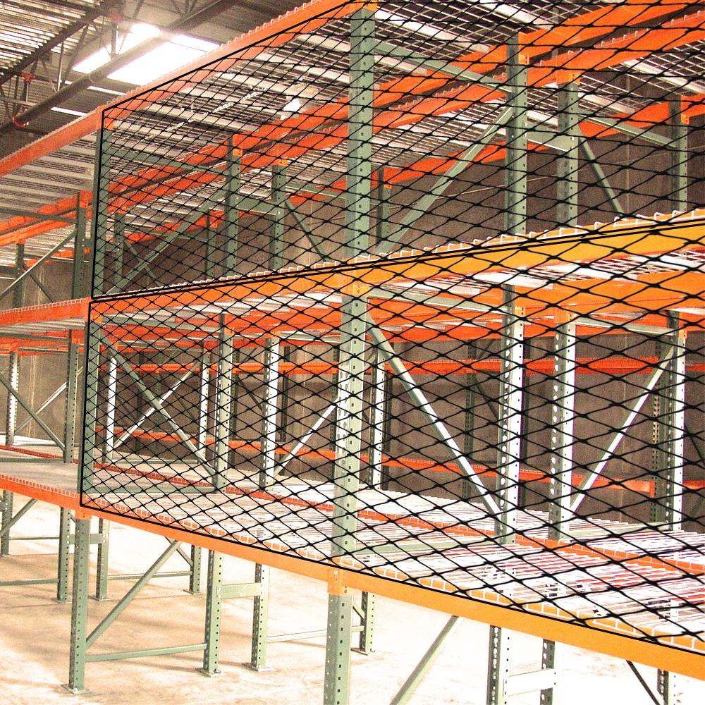 Pallet Rack Guard Netting