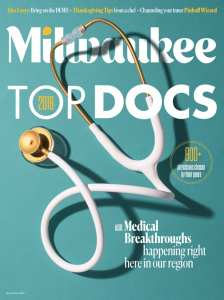 Milwaukee Magazine 2018 Top Docs magazine cover