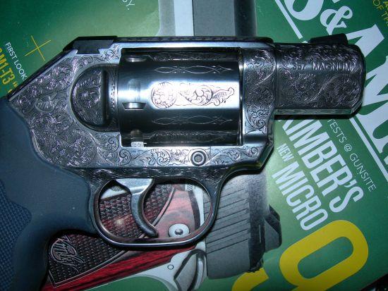 Extra fancy Kimber revolver