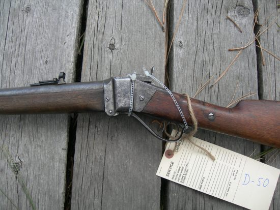 Sharps 1874 Business Rifle Close Up