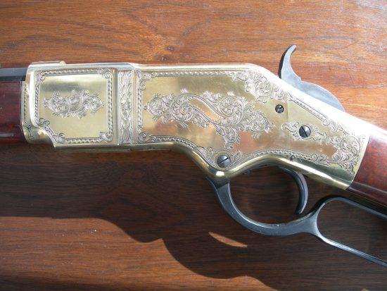 Uberti Rifle - 1870 Style Engraving