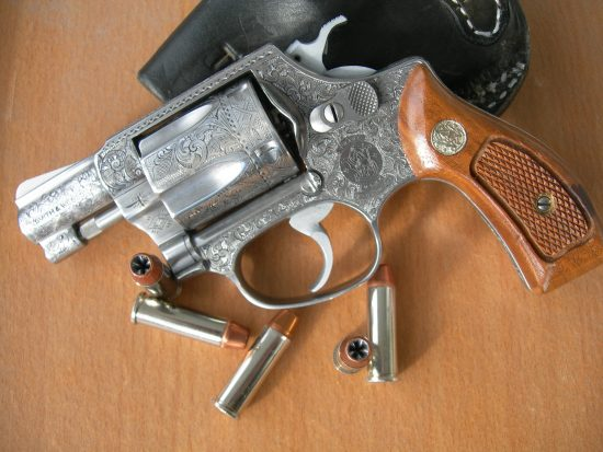 S&W Model 60 Engraved