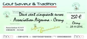 Salon-Saveur-Gourmandises-Cerny- Essonne-chéqueaigouma2
