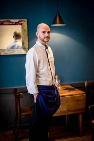 Thomas Schoos, chef de l'Atelier des Gourmets