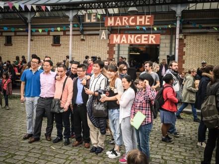 Le Marché à Manger attire les touristes