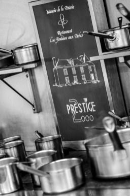 Les cuisines de La Fontaine aux Perles ont vu passer un nombre incroyable de futurs cuisiniers © Olivier MARIE