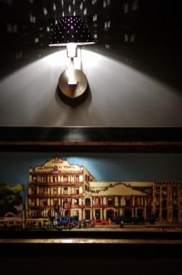 Les œuvres de Loïc Barbotin quitteront le restaurant avec le chef © Olivier MARIE