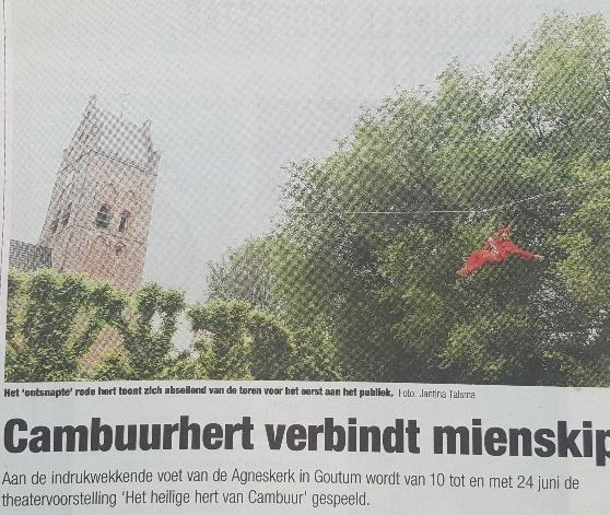 ... vandaag in het nieuws (Huis aan Huis Leeuwarden)