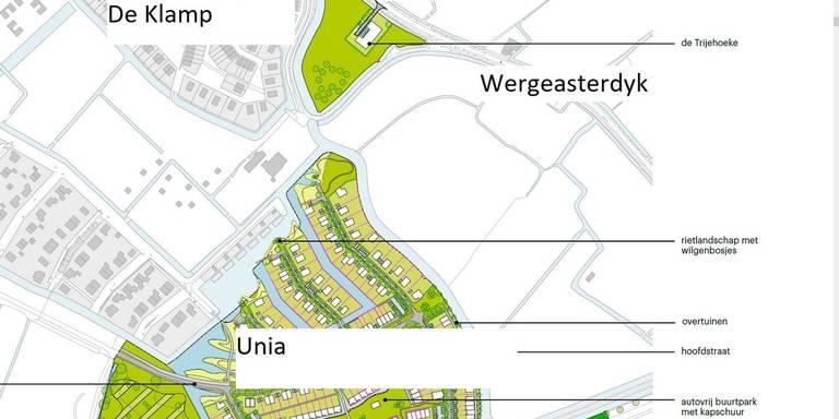 Kopers De Klamp in Leeuwarden schrikken: 'open weiland' toch bebouwd