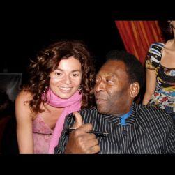 Rencontre avec Pelé au festival de Canne 2006