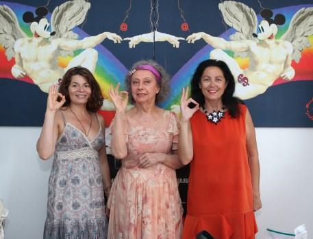 CG Sylvana Lorenz à l'atelier de Ultra Violete à Nice