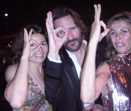 M. Beigbeder Valerie Penven et CG Cannes festival 2009