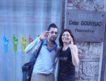 The musiciens Salin with C.Gouveiac